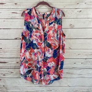 NYDJ sleeveless blouse